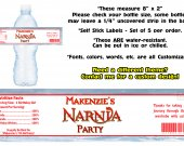 Narnia The Lion, The Witch, and The Wardrobe Water Bottle Labels - PRINTED FOR YOU - Birthday Party Supplies Favors