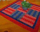 Stars and Anchors Table Topper