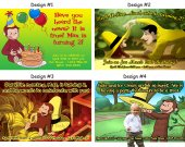 Curious George Birthday Party Invitations, Supplies, and Favors