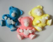 10  Bear Soap Favor - I love you