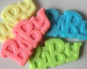 20 Baby Letters Soap - baby shower favor