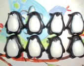 25 party favors soap - penguim - birthday party favor, kids party favor, animal baby shower favor