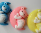 10 Bear Moon Party Favor Soap