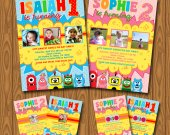 Yo Gabba Gabba Invitations
