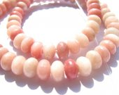 ball rondelle abacus pink red  opal stone gemstone jewelry beads 5x8mm --5strands 400pcs