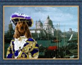 English Cocker Spaniel Dog Fine Art Canvas Print