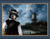 Chihuahua Dog Fine Art Canvas Print