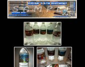 Ice Age Set of 15 Water Bottle Labels -  Make Great Party Favors - Style 1