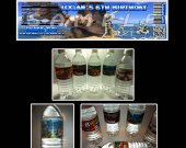 Ice Age Set of 15 Water Bottle Labels - Make Great Party Favors - Style 4