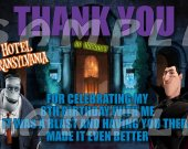 Hotel Transylvania Personalized Thank You Cards