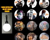 Hotel Transylvania Set of 12 Zipper Pulls Make Great Party Favors
