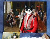 Welsh Corgi Cardigan Art Print Canvas Fine Artwork GALLERY WRAPPED -The Concert