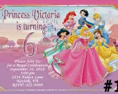 Disney Princess Birthday Invitation You Print (1)