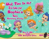 Bubble Guppies Birthday Party Invitation You Print (1)