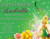 Tinkerbell Fairy Birthday Invitation You Print (1)