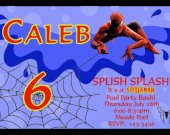 Spiderman Pool Party Super Hero Birthday Invitation Personalized Photo You Print Digital File