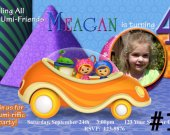 Team Umizoomi  Personalized Photo Birthday Invitation You Print Digital File Party