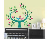 Wall Decal - Tree Wall Decal - Childrens Reusable Removable Decal - T108SWA