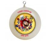 Super Mario Personalized Custom Christmas Ornament