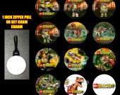 Lego Dino Set of 12 Zipper Pulls Make Great Party Favors
