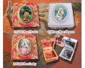 Lhasa Apso Jewelry Box Decoupage Vintage Wooden Treasure Box for Dog Lover