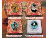 Jack Russell Terrier Jewelry Box Decoupage Vintage Wooden Treasure Box for Dog Lover