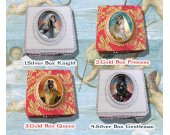 Afghan Hound Jewelry Box Decoupage Vintage Wooden Treasure Box for Dog Lover