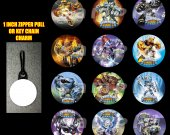Skylanders Giants Set of 12 Zipper Pulls Make Great Party Favors-Page 1