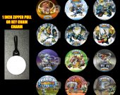 Skylanders Giants Set of 12 Zipper Pulls Make Great Party Favors-Page 2