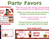 Wreck It Ralph Personalized Birthday Party Favors Supplies Wreck-It Ralph