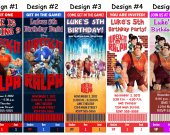 Wreck-It Ralph Birthday Party Ticket Invitations, Supplies, and Favors Wreck It Ralph