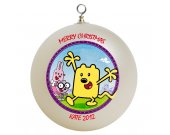 Wow Wow Wubbzy Personalized Custom Christmas Ornament