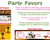 Kung Fu Panda 2 Personalized Birthday Party Favors Supplies