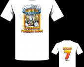 Skylanders Giants Legendary Trigger Happy Personalized T-Shirt