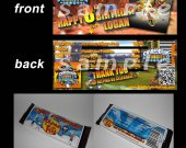 Skylanders Giants Set of 12 Personalized Candy Bar Wrappers Party Favors