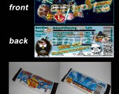 Angry Birds Star Wars Set of 12 Personalized Candy Bar Wrappers