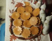 HARVEST SPICE &amp; APPLE Scent, Highly Fragranced Homemade Soy Tarts/Melts