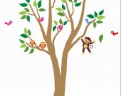 Tree Wall Decal Reusable Decal Wall Art 993