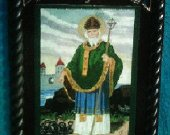 St. Patrick with Snakes (c. 389-461) Feast Day March 17
