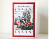 Rocking Horse Christmas Greeting Card