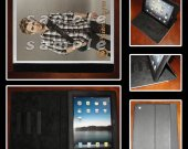Hunter Hayes Leather iPad Case #6- Fits iPad 2, 3 and 4