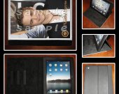 Hunter Hayes Leather iPad Case #7- Fits iPad 2, 3 and 4