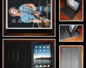 Hunter Hayes Leather iPad Case #8- Fits iPad 2, 3 and 4