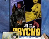 Beauceron Vintage PRINT POSTER Canvas Print - Psycho Movie Poster