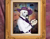 Kuvasz Art Print 11 x 14 inch original illustration artwork archival PRINT poster