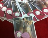 set of 9 Valentine Tags, Gift Tags, Wish Tree Tags , Favor Tags, Treat Bag Tags, Product Tags, Hang Tags