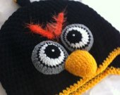 ANGRY BIRD children hat size 4 to 8 years old