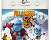 Escape from Planet Earth Set of 12 VIP Party Invitation Passes or Party Favors