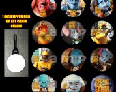 Escape from Planet Earth Set of 12 Zipper Pulls Make Great Party Favors