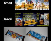 Escape from Planet Earth Set of 12 Personalized Candy Bar Wrappers Party Favors